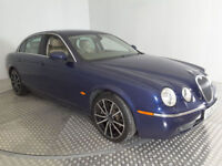 2004(04)JAGUAR S TYPE SE 2.7 DIESEL AUTOMATIC MET BLUE,FSH,BIG SPEC,LOVELY CAR,GREAT VALUE