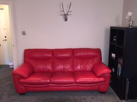 3 seater, 2 seater and footstool - great condition