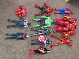 Avengers action figures toys