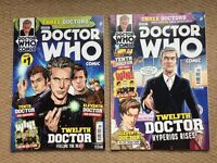 Doctor Who: The 3 Doctors Issue 1 + 2 with Interactive DVD.