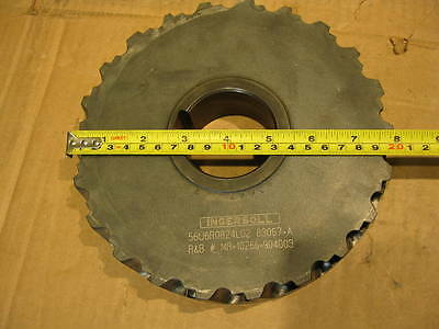 Ingersoll 8 Indexable Milling Disc Cutter 56u6r0824l02 83067-a Face