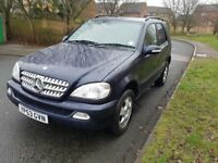 Mercedes ml 2.7d auto 1 year MOT