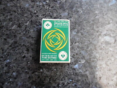 ancien jeu de carte publicitaire feuilles de trefle engrais composé ,granulé