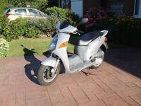 Honda NES 125cc scooter (AKA Honda @125)