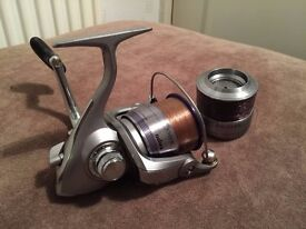 Daiwa Exceler Front Drag Fishing Reel 3500E with Spare Spool - Great Condition perfect Reel