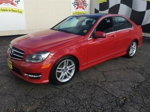 2014 Mercedes-Benz C-Class 300, Auto, Navigation, Leather, Sunro