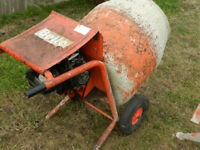 Belle Petrol Engine Builders Concrete and Cement Mixer 3hp with stand