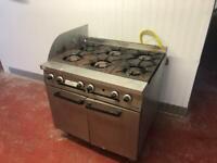 Falcon Dominator 6 Burner Gas Cooker & Oven
