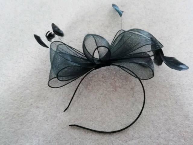 ae0d597d Black fascinator headband | in Wakefield, West Yorkshire | Gumtree