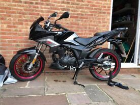 125cc Lexmoto ZSX-F 2017. ONLY 14 MILES ON THE CLOCK!*REDUCED*