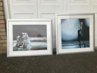 Pair of ballet pictures
