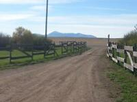 Beautiful acreage situated on the border