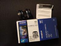 Olympus M.ZUIKO DIGITAL 45mm f1.8 Lens
