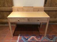 Oak children's desk