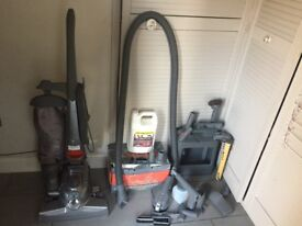 Kirby Sentria G10E vacuum cleaner + shampoo system + caddy with all accessories and more!