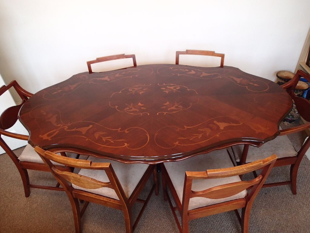 Beautiful Italian Style Dining Table with 6 Chairs 2  : 86 from www.gumtree.com size 1024 x 768 jpeg 95kB