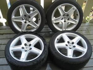 "Acura TL 17"" wheels (bored for 91-95 Acura Legend)"