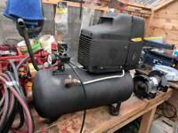 Air compressor fiac 24litre 1.5 hp