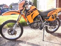 hyosung xrx 125 exc. condition long mot ,, 17k mls.