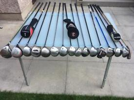Driver, 3 Wood, 5 Wood, 7 Wood, Rescue. All Quality Titleist Callaway Lynx, Mizuno Etc Golf Clubs