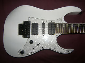 Ibanez RG-350DXZ / RG350DXZ-WH (White) Electric Guitar + Gig Bag.