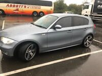 2004 BMW 1 series , Diesel, Manual. (Emphatic Rims)