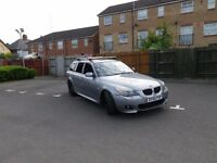 2005 BMW 525d M-SPORT TOURING Low mileage £2899