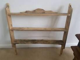 2 Handmade shelves