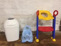 Bath and potty training bundle