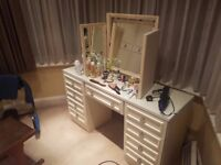 Dressing Table and Mirror in very good condition