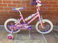 Girls bike. 3-5yrs. Princess