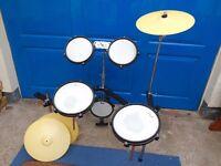 Pearl practice pad drum kit