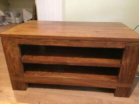 FOR SALE: Teak solid wood TV unit (Belgica Furniture)