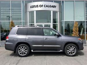 2013 Lexus LX 570 Luxury SUV 6A Ultra Premium Package