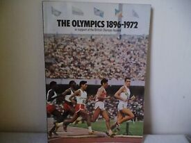 ESSO THE OLYMPICS 1896 - 1972 BOOK WITH FULL SET OF STICKERS