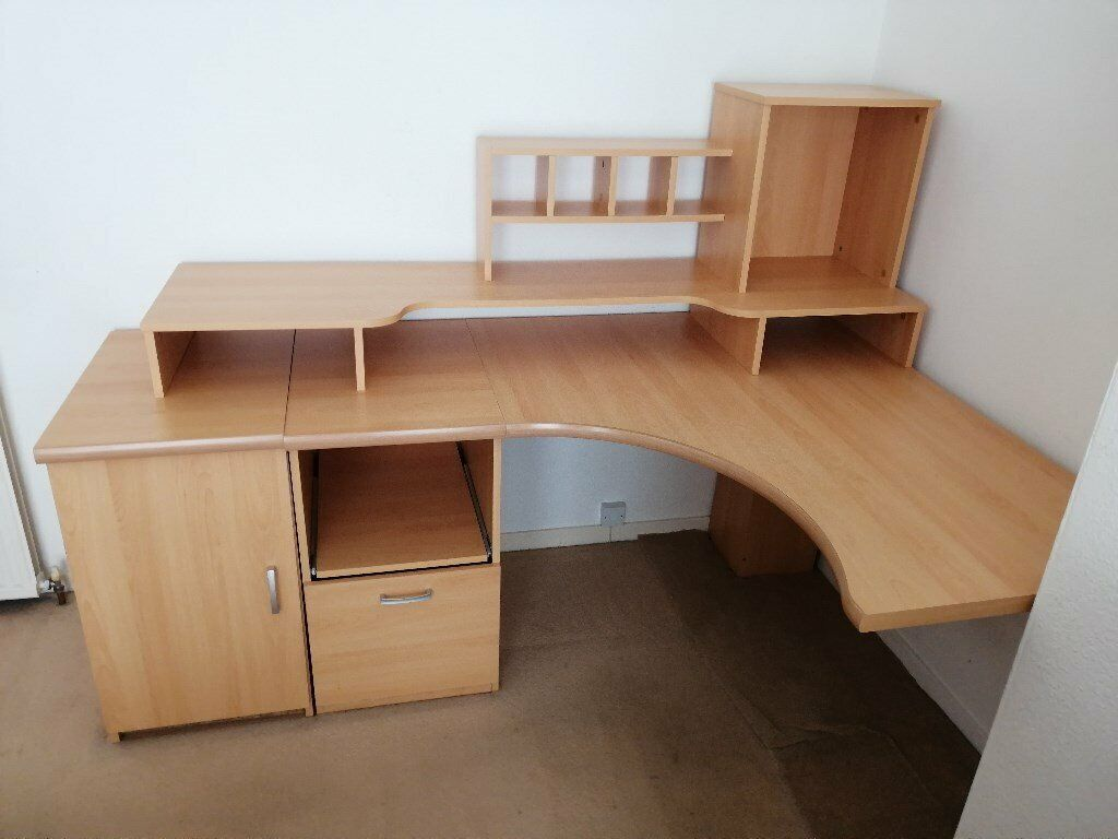 Admirable Corner Office Desk Cupboards And Shelving In Aberdeen Gumtree Download Free Architecture Designs Estepponolmadebymaigaardcom
