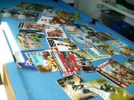 lego brochures and manuals