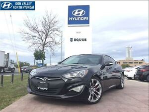 2016 Hyundai Genesis Coupe GT WITH R-SPEC EXHAUST AND NAV