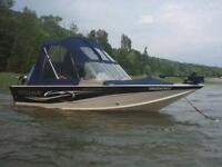 16 ft Sylvan Explorer 90 hp Mercury