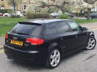 **STUNNING EXAMPLE + RARE S-LINE 170 +AUDI A3 SPORTBACK 2.0 DIESEL (2007 YEAR)**