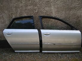 Audi A8 D3 2004-2010 offside doors both front and rear in perfect condition