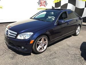 2010 Mercedes-Benz C-Class 350, Leather, Sunroof, Heated Seats,