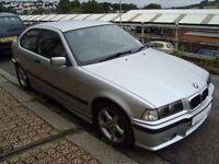 BMW 318Ti Sport auto in silver