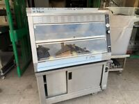 NEW HOT CHICKEN DISPLAY CABINET FAST FOOD RESTAURANT KITCHEN TAKE AWAY CATERING COMMERCIAL SHOP