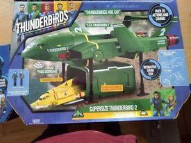 Thunderbirds supersize thunderbird 2 & thunderbird 4