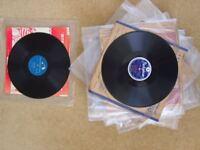 78RPM RECORDS JAZZ/ROCK+X28/SPLIT:ELVIS/HALEY/RODGERS/HEATH/LYTTELTON/COLE/SHAW+