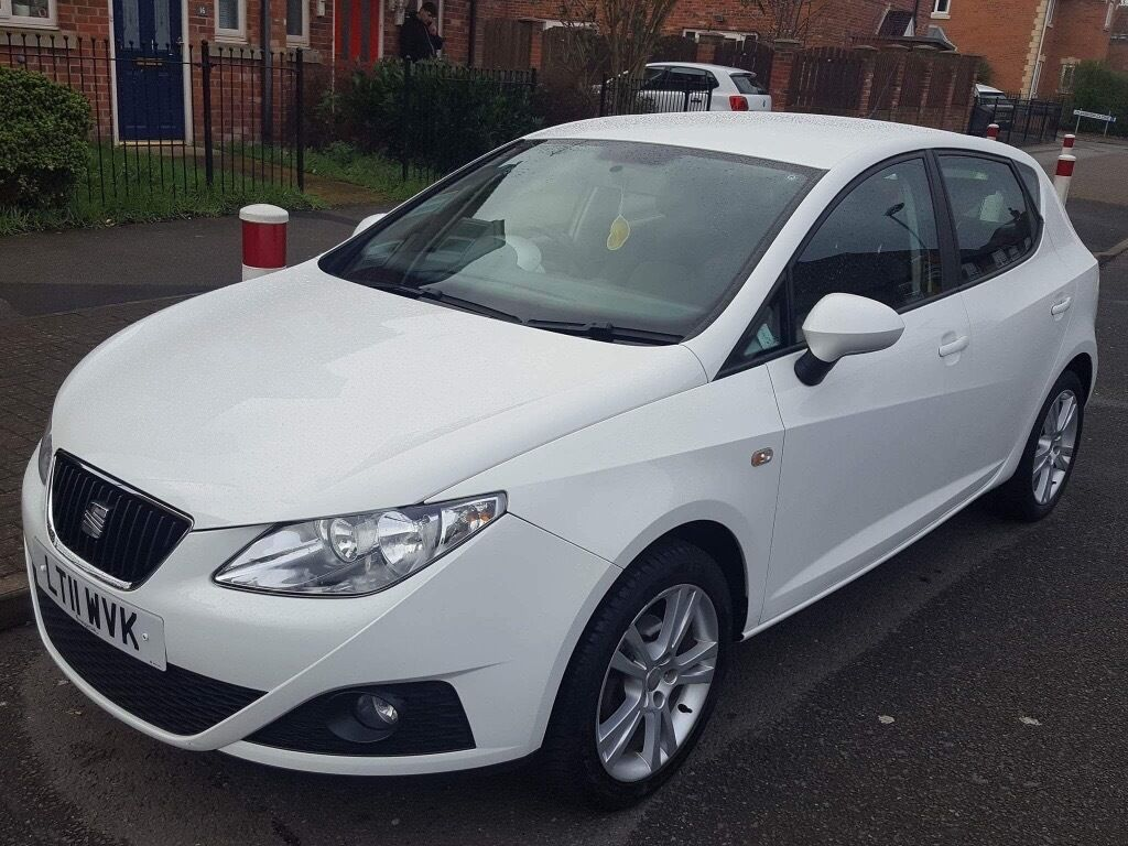 2011 seat ibiza 1 4 se petrol 5 door candy white in mansfield nottinghamshire gumtree. Black Bedroom Furniture Sets. Home Design Ideas