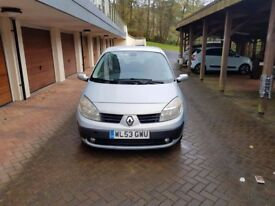!BARGAIN! 2003 Renault Scenic 1.6 VVT Expression 5dr; SHORT MOT; LOTS OF BILLS