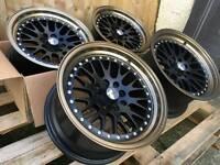 "Brand new 15"" Avid.1 Av12 alloy wheels 4x100 pcd vauxhall mini honda"