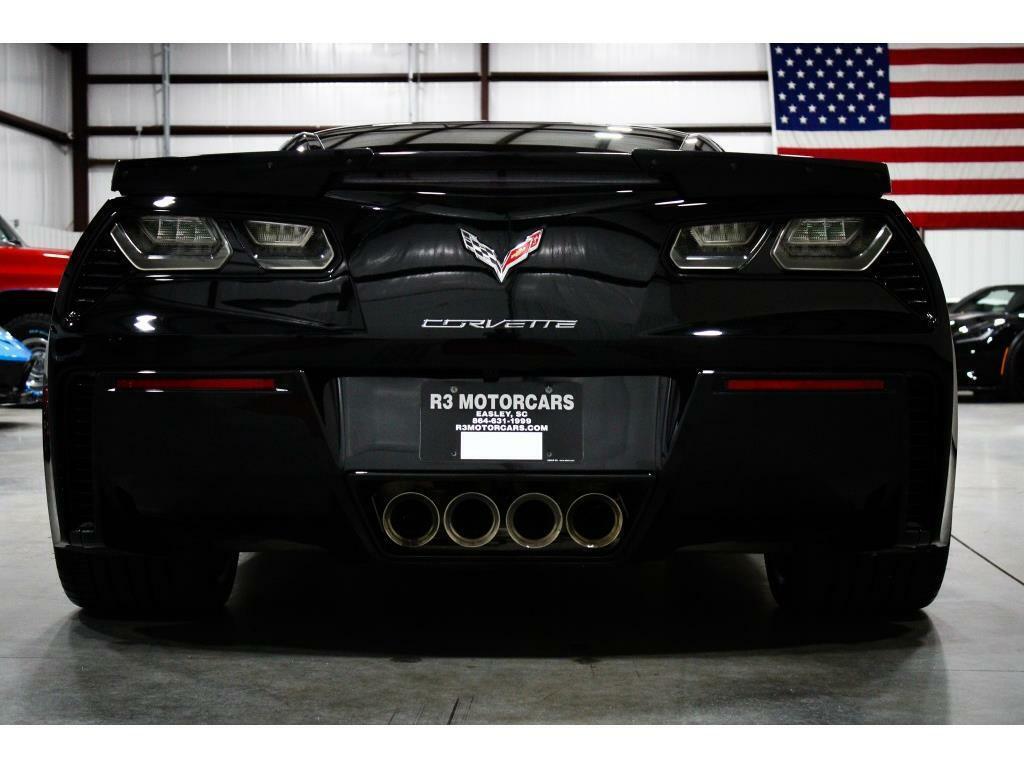 2016 Black Chevrolet Corvette Z06 3LZ | C7 Corvette Photo 4